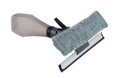 Rodo Limpa Vidro com Dispenser, Cinza