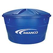 Caixa de Água Polietileno 310L Tampa Encaixe Azul