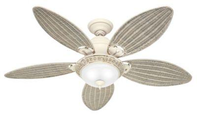 Ventilador de Teto Caribbean Breezer, Branco, 45X132Cm, 127V