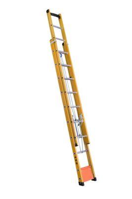 Escada FVD Extensível 20 Degraus Amarelo