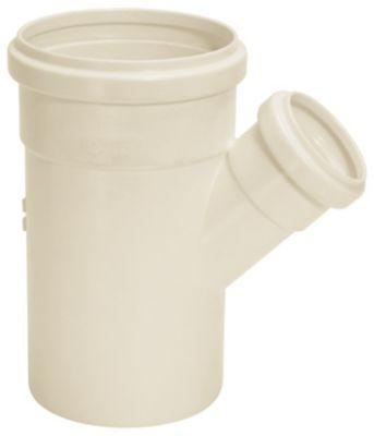 Junção Simples Esgoto Branco 100X75mm