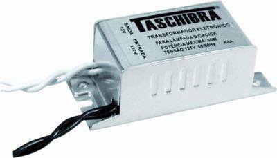 Transformador Eletrônico para Dicróica 100W, Cromado, 220V