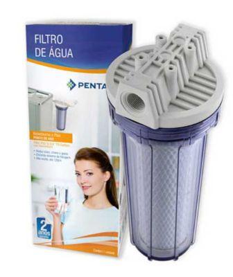 """Filtro De Água Carbon Block 9"""" Para Ponto De Consumo Cozinha Na Parede / Acoplado Torneira / Bebedouro 907-0018"""