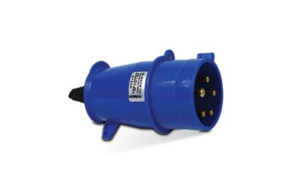 Tomada Industrial 3P+T Azul 32A 200/250V