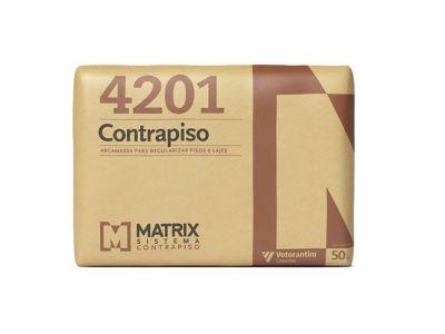 Argamassa Contra Piso Matrix, Cinza, 50kg