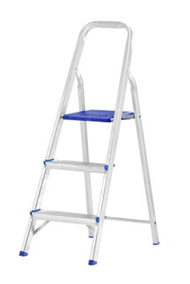 Escada Doméstica de Alumínio 3 Degraus