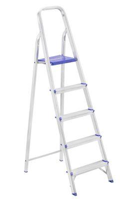 Escada Doméstica de Alumínio 5 Degraus