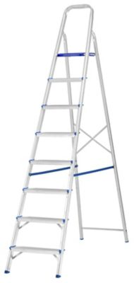 Escada Alumínio Doméstica 8 Degraus
