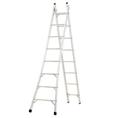 Escada Extensível Alumínio 4 em 1 Pintor, 8 Degraus