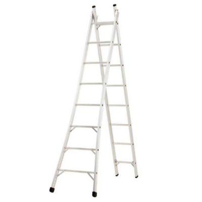 Escada Extensível Alumínio 4 em 1 Pintor, 10 Degraus