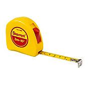 Trena de Bolso 3m/10mm Polegadas, Amarelo Vermelho