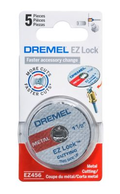 Ezlock Kit Discos Metal 38mm Dremel, Cinza Azul