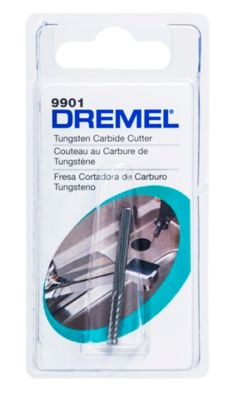 Escariador Carbureto Tung 1/8 Dremel, Cinza