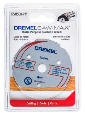 Disco Metal Multiuso Sawmax Dremel, Cinza