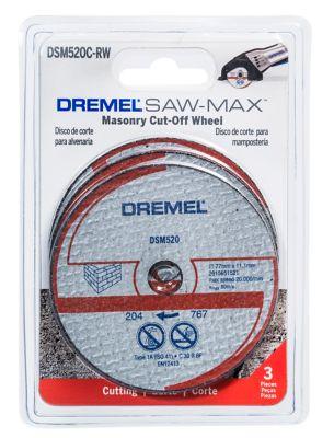 Disco de Corte para Alvenaria Sawmax Dremel, Cinza