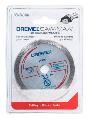 Disco para Azulejo Sawmax Dremel, Cinza