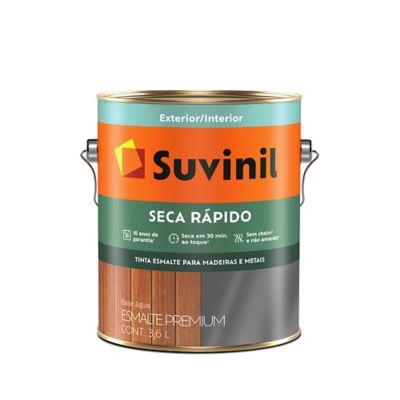 Esmalte Sintético Vermelho 3,6L Seca Rápido Premium para Madeiras e Metais