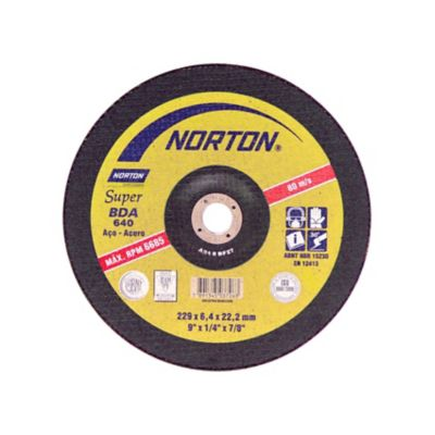 Disco de Desbaste Super BDA640 228,6x6,4x22,22mm