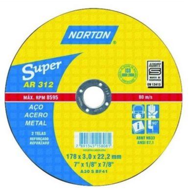 Disco de Corte Ar312 Super, 178X3,0X22,22