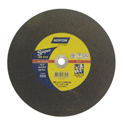Disco de Corte Ar312 Super, 300X3,2X19,05 - Norton
