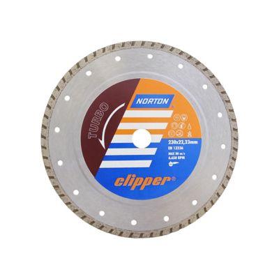 Disco Diamantado Clipper Turbo 230x8x22,23mm