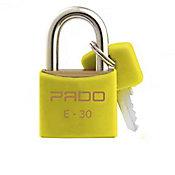 Cadeado Sm E-30mm Cor Amarelo