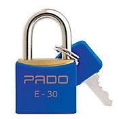 Cadeado Sm E-30mm Cor Azul