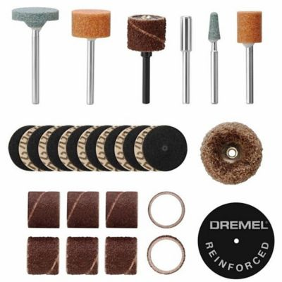 Dremel Kit de Acessórios para Lixar e Desbastar EZ686 - 18 peças