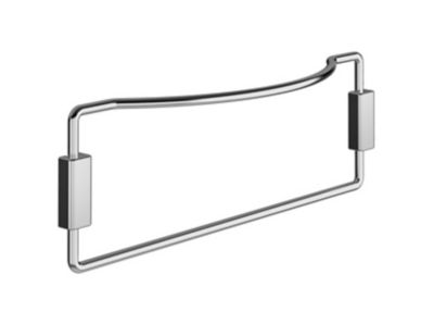 Porta Toalha Fixo Simples 25,5x8,5x4cm Cromado