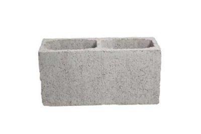 Bloco Concreto Liso, Cinza, 14x19x39cm