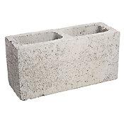 Bloco Estrutural Concreto Liso, Cinza, 14x19x39cm