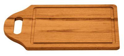 Tábua para Cortar e Servir Churrasco 32x20cm Madeira