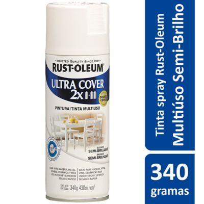 Tinta Spray Semibrilhante Ultra Cover 430ml Branco