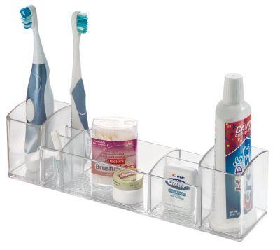 Porta Remédio e Artigos de Higiene 30cm Plástico Transparente