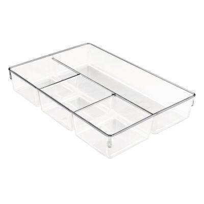 Organizador para Gaveta com 4 Compartimentos Transparente