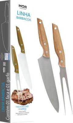 Conjunto Faca do Chef 8 e Garfo 3913, 36,2x10,2x3cm