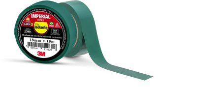 Fita Isolante Imperial Verde 18mmx10m
