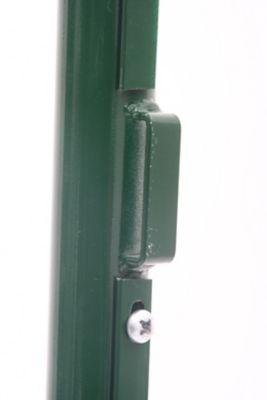Mourão Fechadura Galvanizado e Pintado, Verde, 120cm