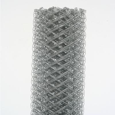 """Tela Alambrado 1"""" Fio 18 Galvanizado, Cinza, 120x500cm"""
