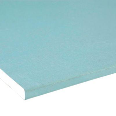 Placa Gesso Resistente à Umidade 12,5mm 120x180cm Branco e Verde