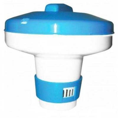 Clorador Flut Mini S/Prato 14Cm, Azul Branco - Netuno