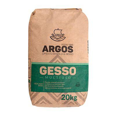 Gesso Argos, Branco, 20kg