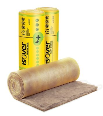 Rolo de Feltro em Lã de Vidro Wallfelt 50mm x 1,20m x 12,5m 15m²