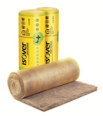 Lã de Vidro RL75, Amarelo, 12500x1200mm