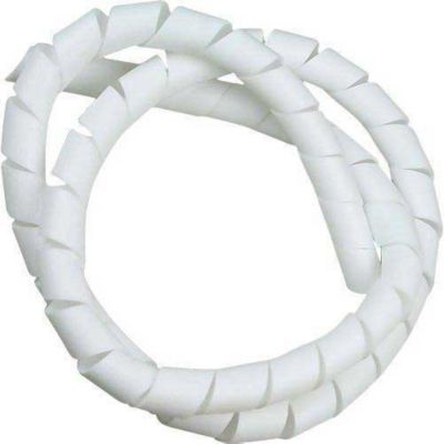 "Espiral Organizador De Cabos Branco 3/4""X2m"