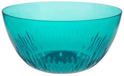 Saladeira de Acrílico Azul