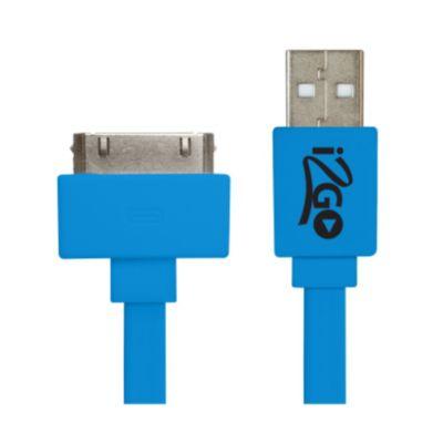 Cabo USB 30 Pinos para iPhone 4/4S Sortido