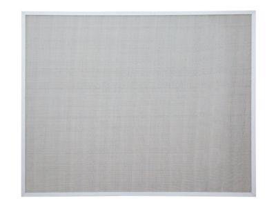 Tela Mosquiteira Aluminio Inteiriça Alumifort 120x200x3cm Perfil branco/Malha cinza Alumifort