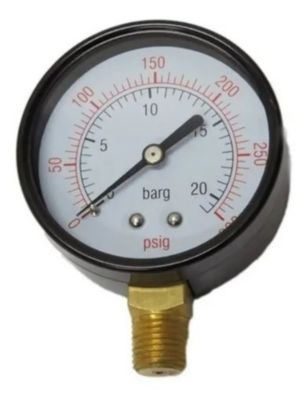 "Válvula de Registro de Pressão Ar Comprimido 1/4"""