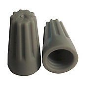 União para Fios Plug 0,75 a 2,5mm 4 Peças Cinza